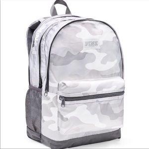 Victoria's Secret White cami full-size Backpack